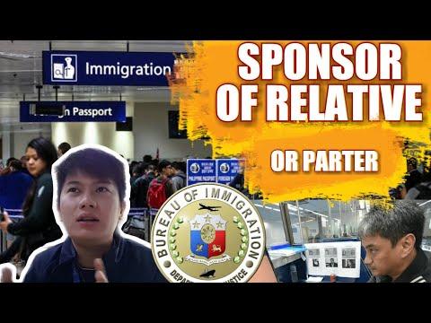 SPONSOR OF RELATIVE OR PARTNER | INVITATION LETTER | IMMIGRATION OFFICER | August 10, 2019