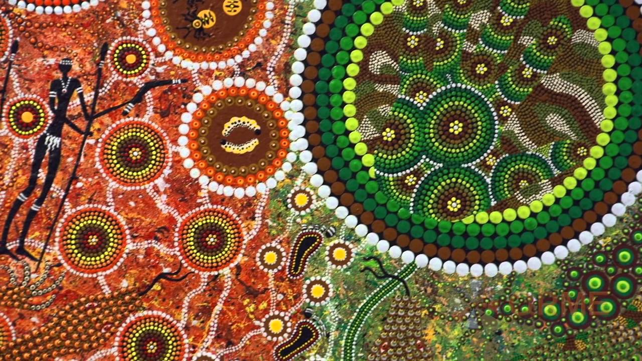 How Does Aboriginal Art Create Meaning Youtube