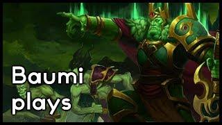 Dota 2 | CRYSTALIS BETTER THAN HAND OF MIDAS?! | Baumi plays Wraith King
