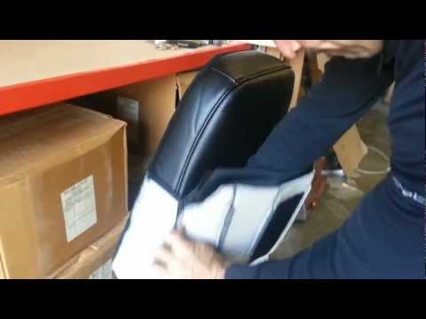 BOSTROM Full Seat Restore - 4 Back Cushion Cover Install