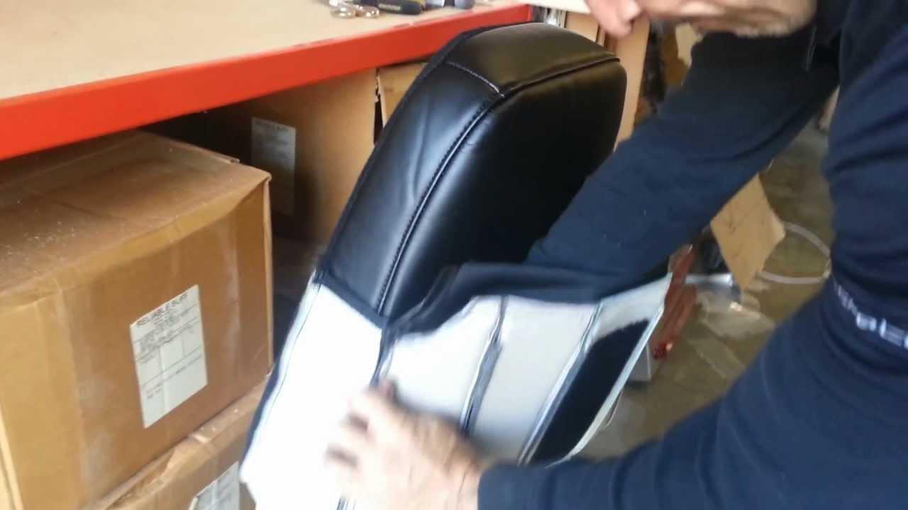 BOSTROM Full Seat Restore - 4 Back Cushion Cover Install