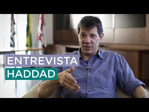 'Não basta distribuir renda', entrevista com Fernando Haddad