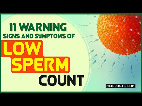 11 Warning Signs and Symptoms of Low Sperm Count, Oligospermia