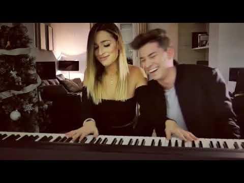 Raoul y Belén Aguilera cantando Canciones de Navidad 20-12-18