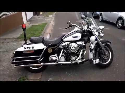HARLEY DAVIDSON, ROAD KING 1995 POLICE, COSTA RICA