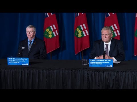 Doug Ford gives update on vaccine rollout, ongoing lockdowns   FULL UPDATE