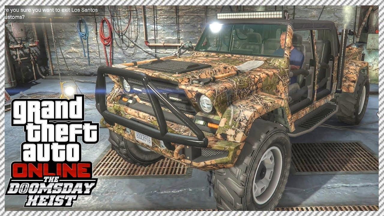 Grand Theft Auto  Heist New Cars