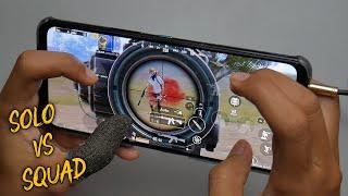 New Gameplay 90Fps!! Asus ROG Phone 5 PUBG Handcam 5 Finger + Gyro