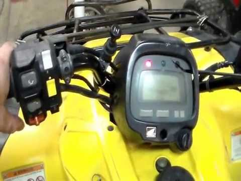 Can't Shift to Reverse on a Honda ES ATV - YouTube