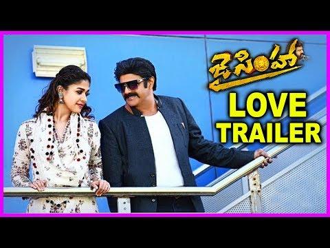 Jai Simha Movie Love Trailer - Latest...