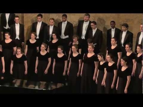 Westminster Choir at Alexander Hall, Princeton