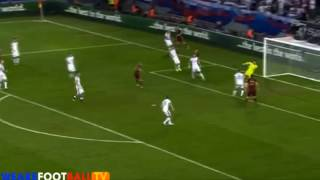 ГОООООЛ!Денис Глушаков забивает гол!Россия-Словакия | 1-2