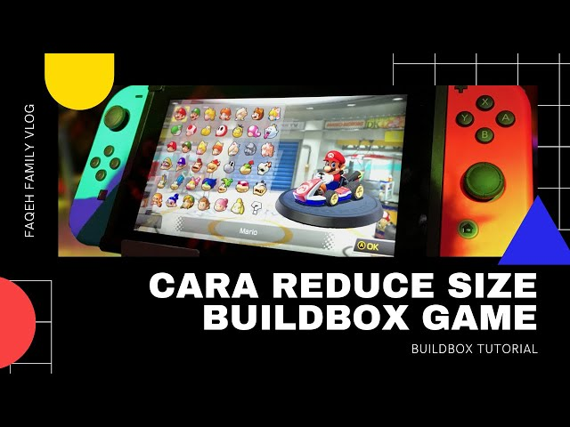 How to reduce game size in buildbox 2
