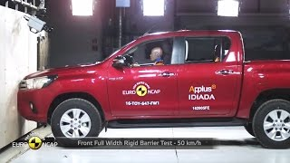 2016 Toyota Hilux - Crash Test