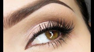 Легкий макияж для карих глаз(, 2014-09-23T03:29:27.000Z)