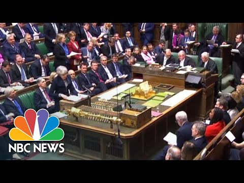Prime Minister Defends Involving U.K. Opposition Leader In Brexit Talks | NBC News