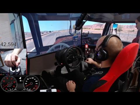 ALMAR SKRS scania shifter first test on American Truck Simulator