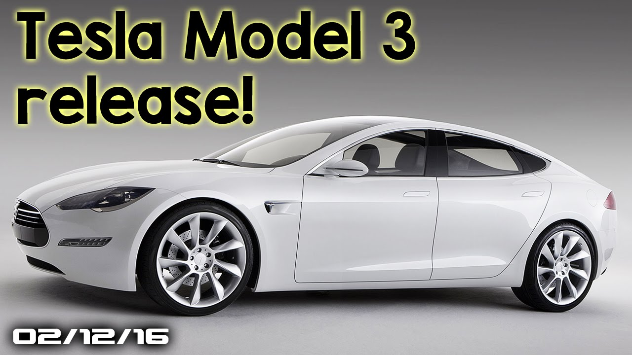 new tesla car release dateTesla Model 3 Release Date Honda Civic Hatchback New Nissan
