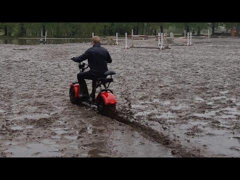 Проходимость CityCoco: лес, грязь, песок