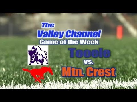 Tooele High School at Mountain Crest High School football game 10-17-18