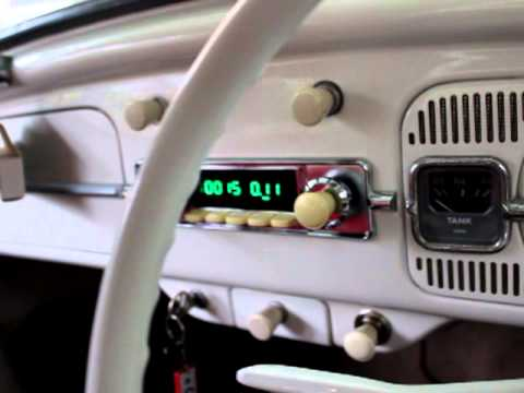 The Bug's new Retrosound Zuma radio and speakers. - YouTube