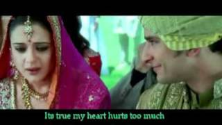 Kal Ho Na Ho (sad) with English Lyrics