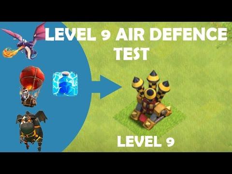 Clash of Clans | Air Defense level 9 | test