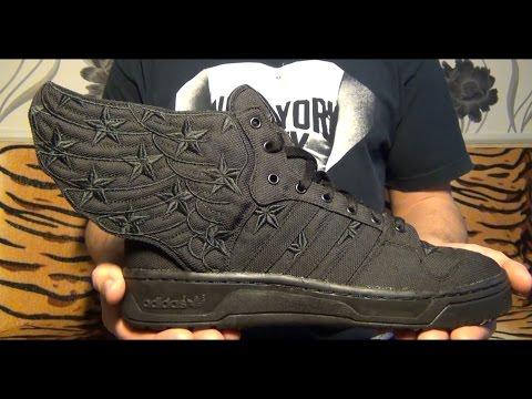 Видеообзор Adidas Originals Wings 2.0 Jeremy Scott X A$AP Rocky