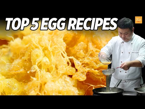 Top 5 Egg Recipes by Masterchef | Cooking Chinese Food • Taste Show