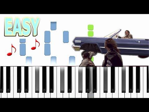 Mike WiLL Made-It - Perfect Pint ft. Kendrick Lamar, Gucci Mane, Rae Sremmurd - EASY Piano tutorial