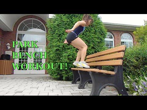 park-bench-workout!