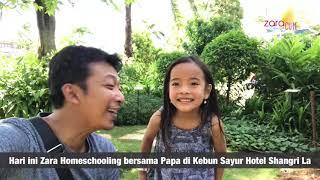 Homeschooling Belajar Nama Sayur di Kebun Hotel Shangri La Jakarta | Learning name of Vegetables