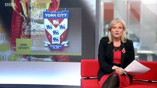 York City FC on BBC Look North - November 2019