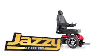 Jazzy Select Elite HD Power Chair from Pride Mobility