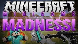 Minecraft  MINIGAME MADNESS (Turf Wars Dragon Escape Milk the Cow amp; More)
