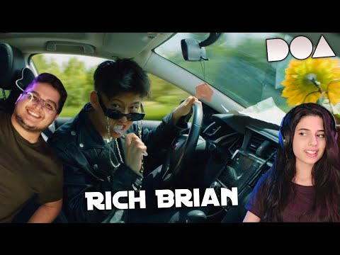 Rich Brian – DOA (Official Music Video REACTION)