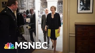 New British Prime Minister Set To Take Office Today | Andrea Mitchell | MSNBC