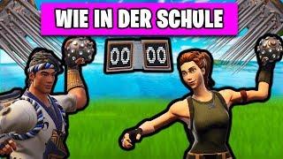 Wie in der SCHULE 🤾 NEUER Spielmodus | Fortnite Spielwiese Deutsch German