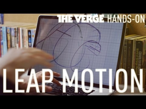 Leap Motion hands-on