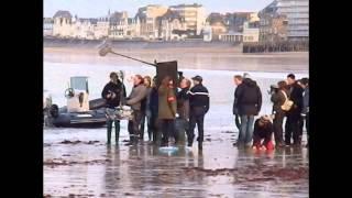 Aperçu tournage téléfilm - St-Malo 30-11-2012