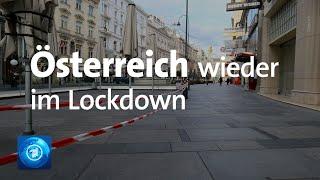 Die wohnung darf nur noch mit triftigem grund verlassen werden, etwa zum arbeiten oder einkaufen. in Österreich gelten seit mitternacht wieder strikte ausgan...