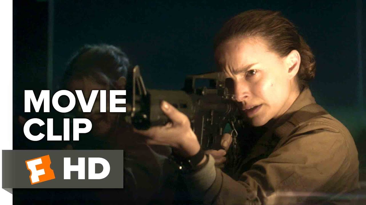Annihilation Movie Clip Bear Takes Sheppard 2018 Movieclips Coming Soon