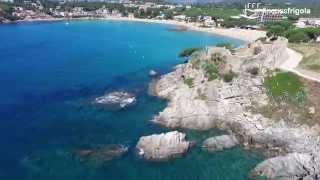 De la Fosca a Cap Roig en Dron. Costa Brava