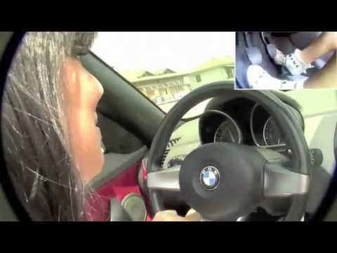 Fast Driving Girls Jackye Bmw Z4 Speeding V029 Youtube