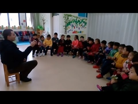 Wonderful China: How to teach English to kids in China. Part-2