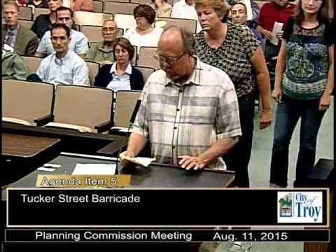 Planning Commission Meeting August 11, 2015