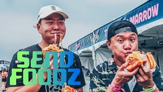 Nood Beach: Send Foodz w/ Timothy DeLaGhetto & David So