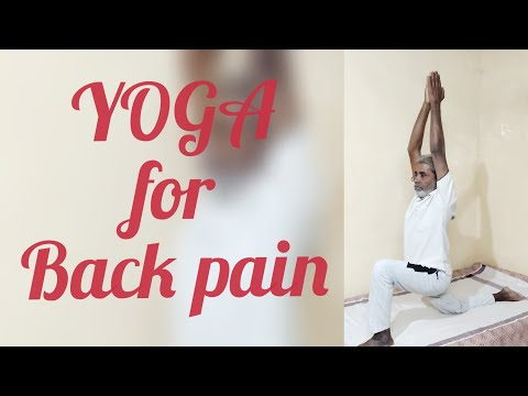 Easy 5 mins yoga for back pain and knee pain in tamil.