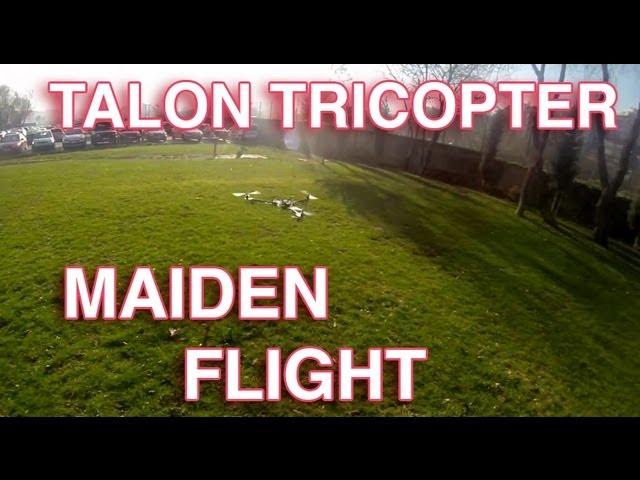 Talon Tricopter First Flight