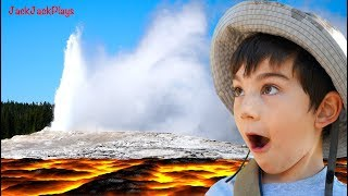 The Floor REALLY is Lava! -- Jack Jack's Volcanic Vacation